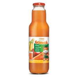 Nektar gamuś marchew/jabłko/banan 0,75l Marka Własna Gama