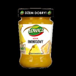 Dżem niskosłodzony ananasowy 280g Łowicz