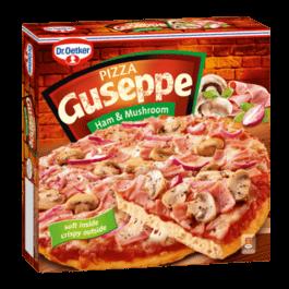 Pizza Guseppe z szynką i pieczarkami 425g Dr. Oetker