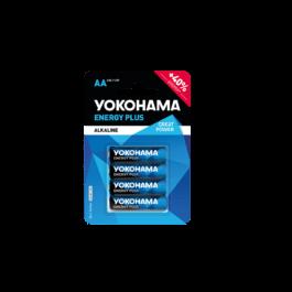 Bateria yokohama energy plus AA LR6 1,5V/4szt