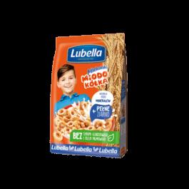 Płatki śniadaniowe Mlekołaki miodowe kółka 250g Lubella