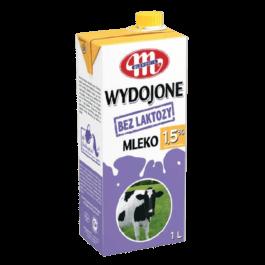 Mleko uht wydojone bez laktozy 1,5% 1L Mlekovita