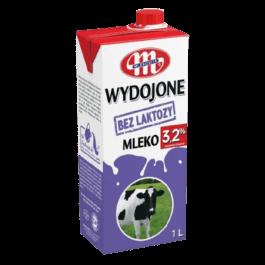 Mleko uht wydojone bez laktozy 3,2% 1L Mlekovita