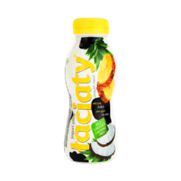 Jogurt pitny łaciaty bez laktozy ananas/kokos 250ml Mlekovita