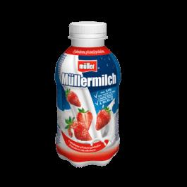 Napój mleczny Mullermilch truskawkowy 400g Muller