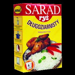 Ryż długoziarnisty Sarad 4x100g OSM Bidziny
