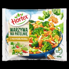 Warzywa na patelnię z przyprawą włoską mrożone 450g Hortex