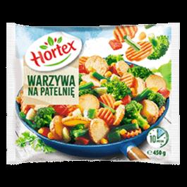 Warzywa na patelnię mrożone 450g Hortex