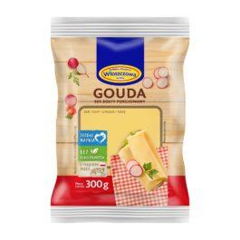 Ser gouda porcja 300g OSM Włoszczowa