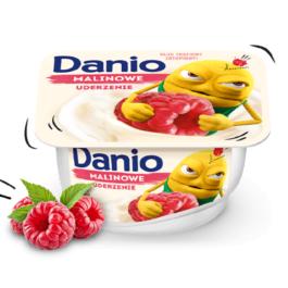 Serek Danio malinowy 140g Danone