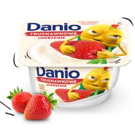 Serek Danio truskawkowy 140g Danone