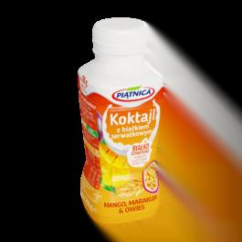 Koktajl z białkiem serwatkowym mango,marakuja,owies 250ml OSM Piątnica