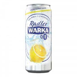 Piwo bezalkoholowe Warka radler 0% 500ml Żywiec