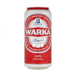 Piwo Warka jasne pełne 5,7% puszka 500ml Żywiec