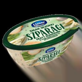 Filety śledziowe w sosie śmietanowym ze szparagami 280g Lisner