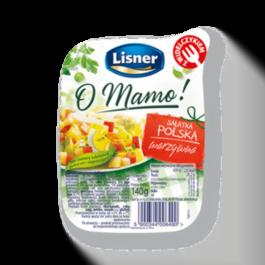 Sałatka polska warzywna 140g Lisner