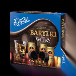 Bomboniera baryłki o smaku whisky Wedel 200g Lotte