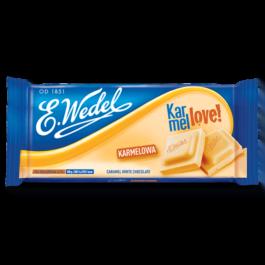 Czekolada Wedel karmelowa 80g Lotte