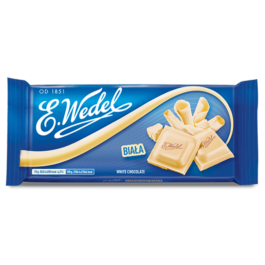 Czekolada Wedel biała 80g Lotte