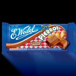 Czekolada Wedel mleczna z nadzieniem pierrot 100g Lotte
