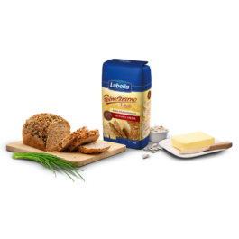 Mąka pełnoziarnista 3 zboża do wypieku chleba 1kg Lubella
