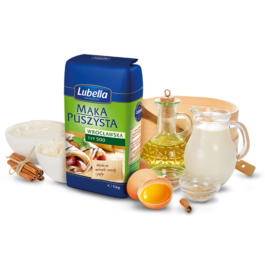 Mąka puszysta wrocławska typ 500 1kg Lubella
