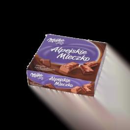 Alpejskie mleczko Milka czekoladowe 330g Mondelez