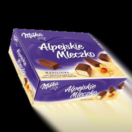 Alpejskie mleczko Milka waniliowe 330g Mondelez