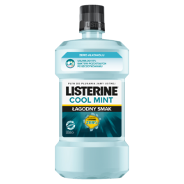 Płyn do płukania jamy ustnej Listerine cool mint zero 500ml J&J