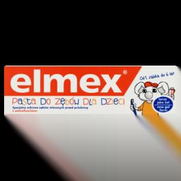 Pasta do zębów Elmex dla dzieci 0-6 lat 50ml Colgate-Palmolive