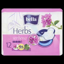 Podpaski ze skrzydełkami Bella herbs verbena 12szt TZMO