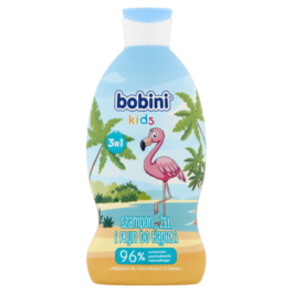 Szampon, żel do mycia, płyn do kąpieli dla dzieci Bobini musująca malina 330ml Global Cosmed