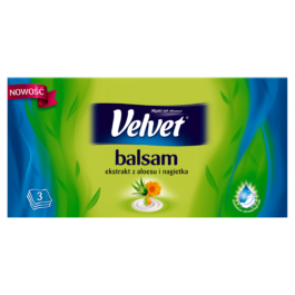 Chusteczki higieniczne Velvet balsam aloes 70szt. Klucze