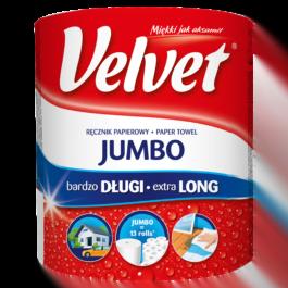 Ręcznik papierowy Velvet jumbo long 1szt. Klucze