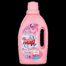 Płyn do prania Help sensitive 1l Dobry wybór