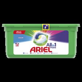 Kapsułki do prania Ariel do kolorów 28szt Procter&Gamble