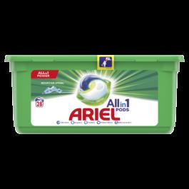 Kapsułki do prania Ariel do białego 28szt Procter&Gamble