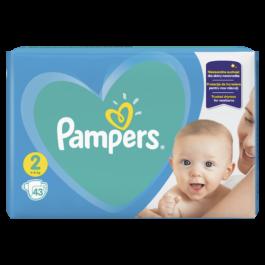 Pieluszki Pampers active baby mini rozmiar 2, 4-8kg 43szt. P&G