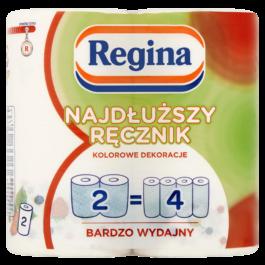 Ręcznik papierowy Regina najdłuższy 2szt. Delitissue