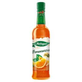 Syrop owocowa spiżarnia o smaku pomarańczowym 420ml Herbapol