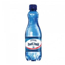 Woda mineralna gazowana mocny gaz 500ml Żywiec Zdrój