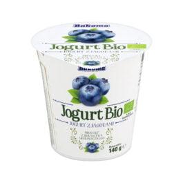 Jogurt Bio z jagodami 140g Bakoma