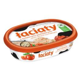 Serek Łaciaty śmietankowy z suszonymi pomidorami 135g Mlekpol
