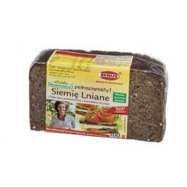 Chleb Mastemacher żytni pełnoziarnisty z siemieniem lnianym 500g Benus