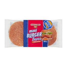 Bułki pszenne maxi do hamburgerów buns z sezamem 300g 4szt Dan Cake