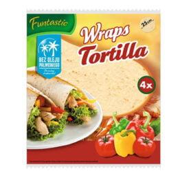 Tortilla Funtastic pszenna 250g 4szt Develey