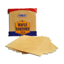 Wafle tortowe 135g Forest