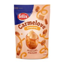 Orzeszki ziemne w karmelu z solą Carmelove Felix 160g Intersnack