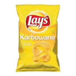 Chipsy Lay's karbowane solone 130g Frito Lay