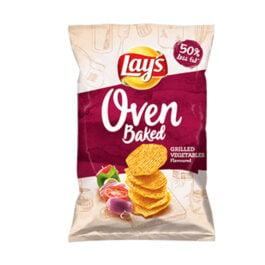 Chipsy Lay's Prosto z pieca o smaku grillowanych warzyw 125g Frito Lay